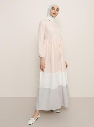 Powder - Crew neck - Unlined -  - Dress