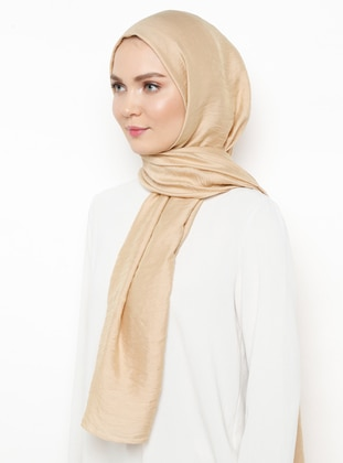 Gold - Plain - Shawl