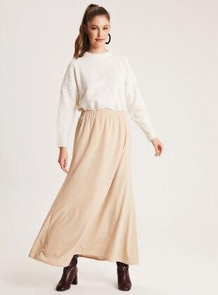 Stone - Fully Lined - Skirt