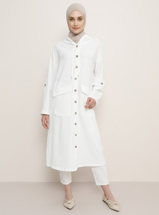 White - Trench Coat