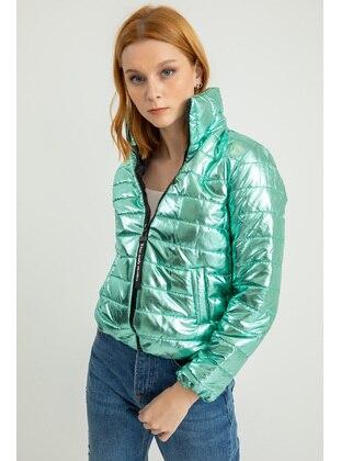 Mint - Puffer Jackets