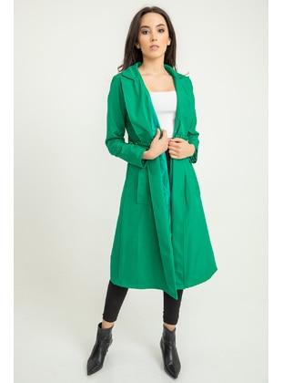 Green - Trench Coat