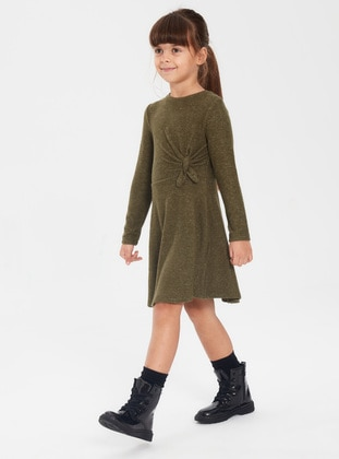 Khaki - Girls` Dress - LC WAIKIKI