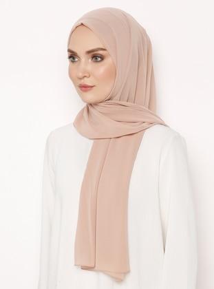 Nude - Plain - Shawl