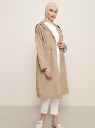 Camel - Unlined - Trench Coat - Benin