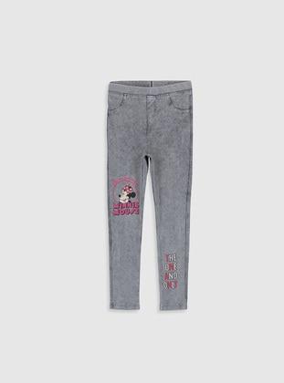 Gray - Girls` Leggings