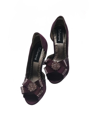 Plum - High Heel - Evening Shoes - Dilipapuç