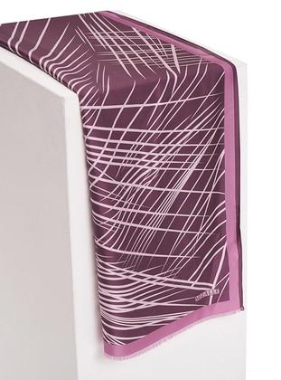 Pink - Leopard - %100 Silk - Shawl