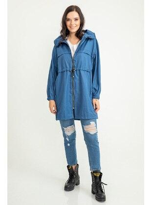 Indigo - Trench Coat