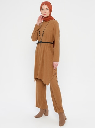 Tan - Unlined - Suit