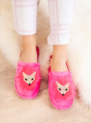 Casual - Fuchsia - Home Shoes
