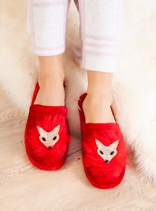 Casual - Red - Home Shoes