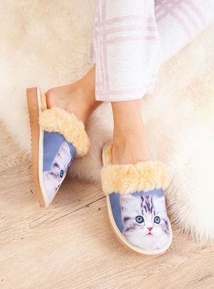 Casual - Blue - Home Shoes