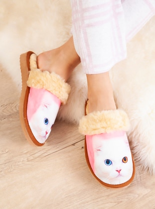 Casual - Pink - Home Shoes
