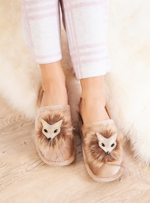 Casual - Mink - Home Shoes
