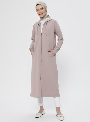 Pink - Unlined -  - Topcoat - Everyday Basic
