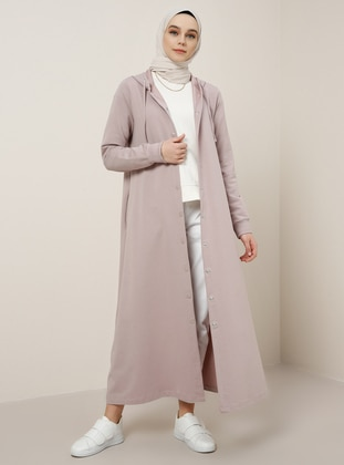 Pink - Unlined - Cotton - Topcoat - Benin