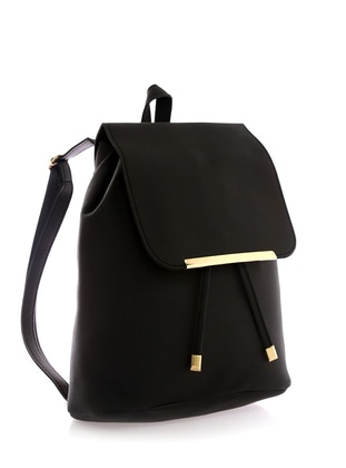 Black - Backpack - Backpacks - Stilgo
