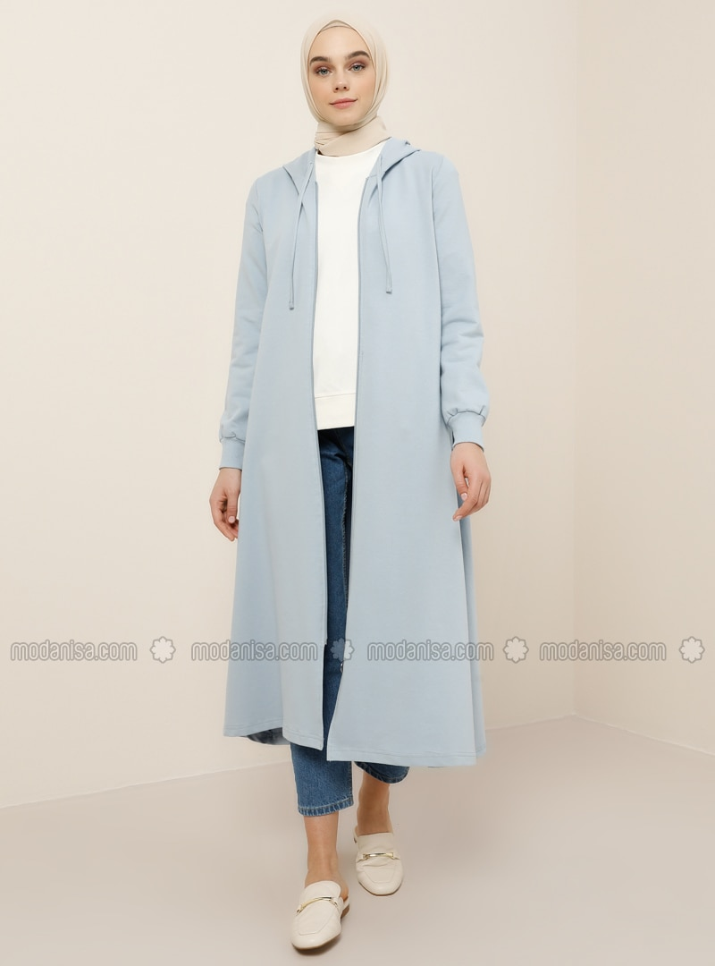 Baby Blue - Blue - Unlined -  - Topcoat