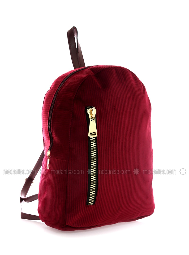 Maroon - Backpack - Backpacks