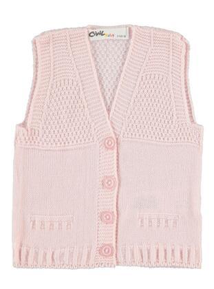Pink - Baby Vest - Civil Baby