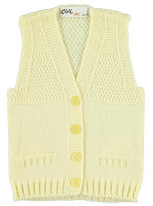 Yellow - Baby Vest -  Baby