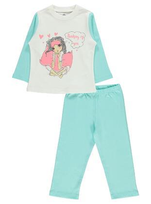 Green - Girls` Pyjamas - cvl