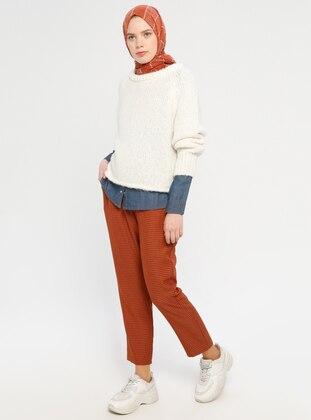 Cinnamon - Checkered - Pants