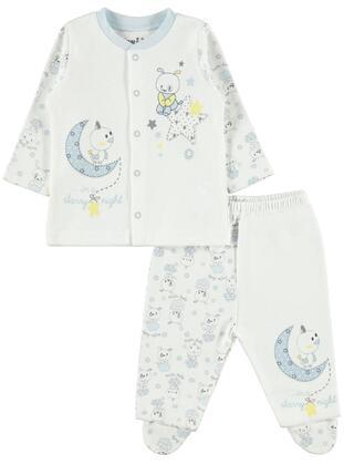 Blue - Baby Suit - Kujju