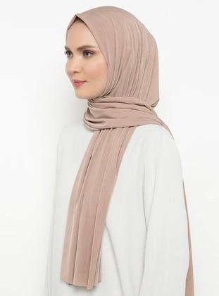 Mink - Plain - Combed Cotton - Shawl