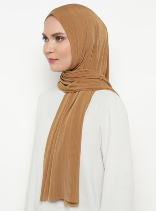 Gold - Plain - Combed Cotton - Shawl