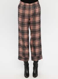 Powder - Black - Plaid - Pants