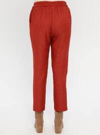 Terra Cotta - Checkered - Pants