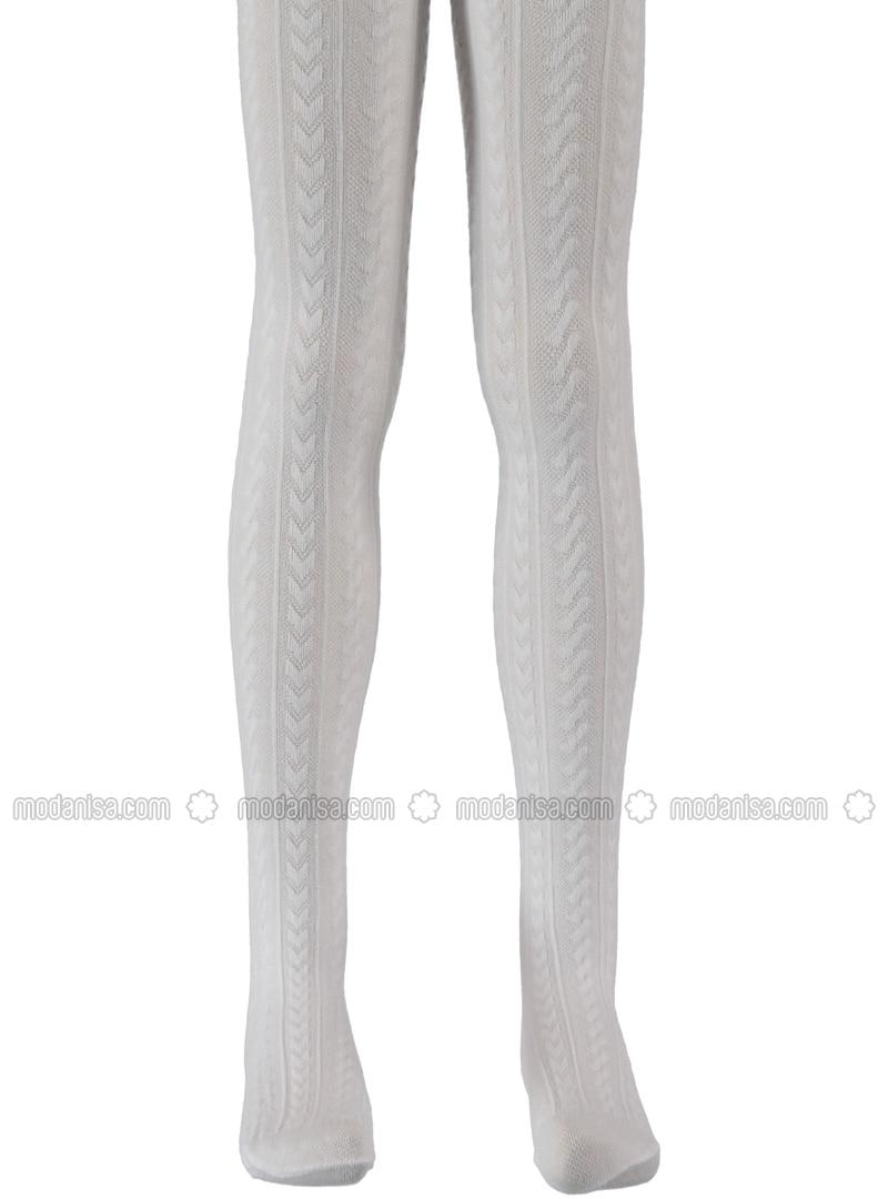 White - Girls` Socks - Bella Calze