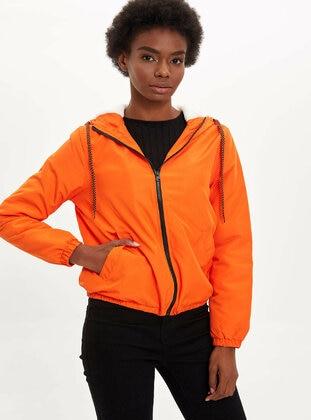 Orange - Puffer Jackets