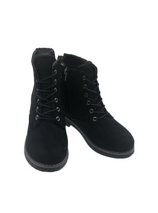 Black - Boot - Boots - Dilipapuç
