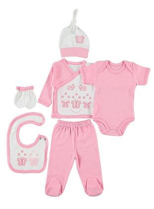 Pink - Baby Underwear Set -  Baby