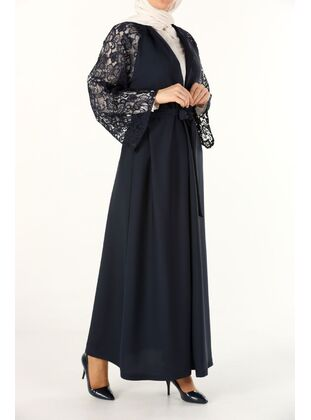 Navy Blue - Evening Dress