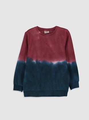Navy Blue - Boys` Sweatshirt - LC WAIKIKI