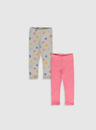 Gray - baby tights - LC WAIKIKI