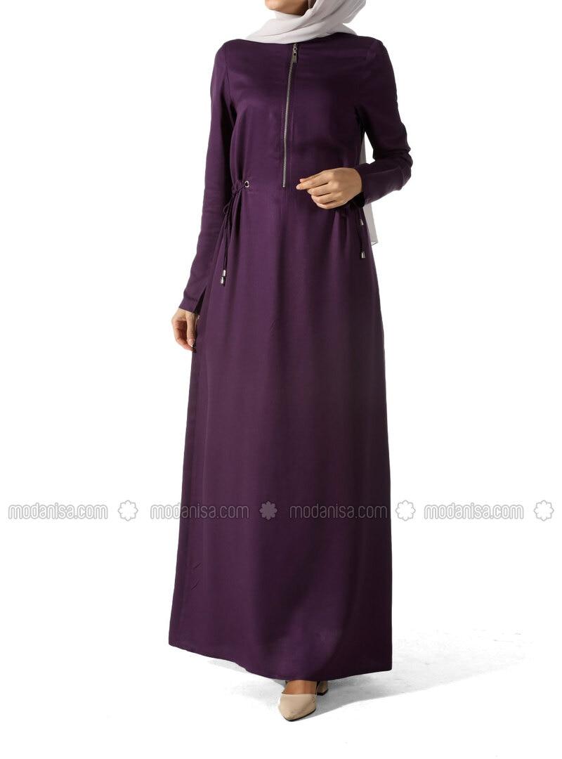 Purple - Plus Size Dresses