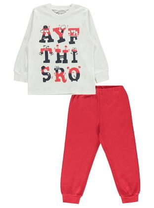 Red - Boys` Pyjamas - cvl