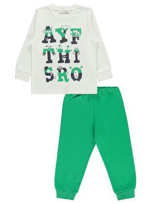 Green - Boys` Pyjamas - cvl