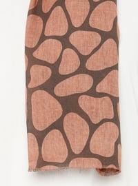 Terra Cotta - Printed - Plain -  - Shawl