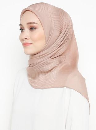 Powder - Striped - Plain - Viscose - Scarf