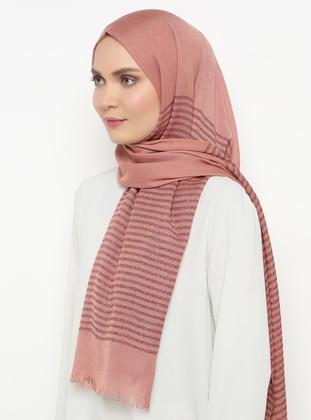 Onion Skin - Striped - Plain - Shawl
