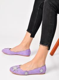 Lilac - Flat - Flat Shoes