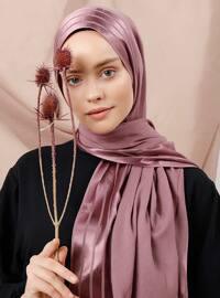Dusty Rose - Plain - Viscose - Shawl
