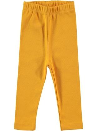 Mustard - baby tights