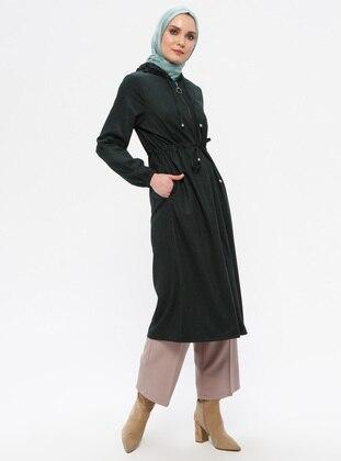 Khaki - Unlined -  - Topcoat